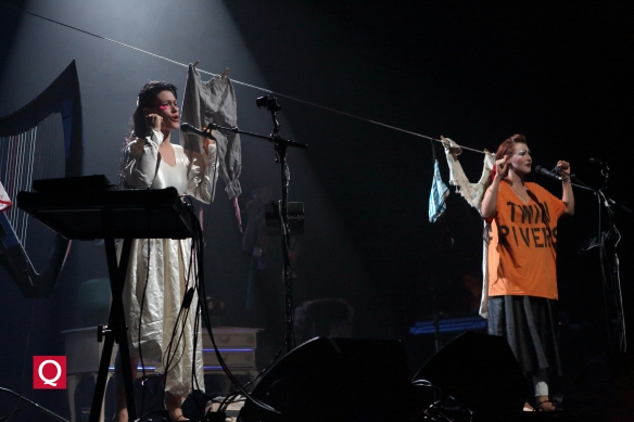 Sierra and Bianca Casady as CocoRosie